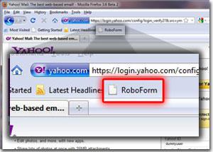 RoboForm Bookmarklet